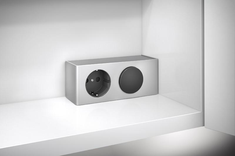 Badezimmer Spiegelschrank Energiebox für Beleuchtung