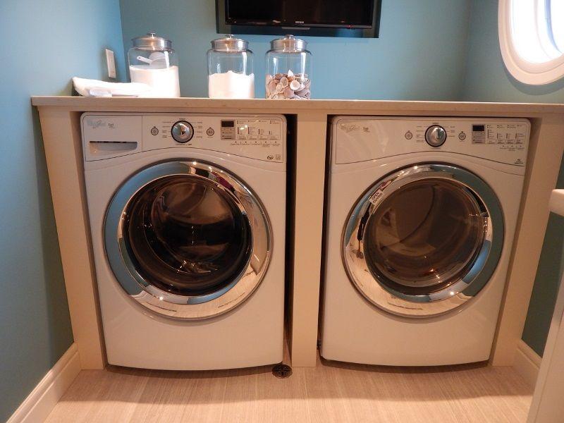 Waschmaschine Unter Arbeitsplatte die waschmaschine im bad verstecken kreative ideen im bad11 ratgeber