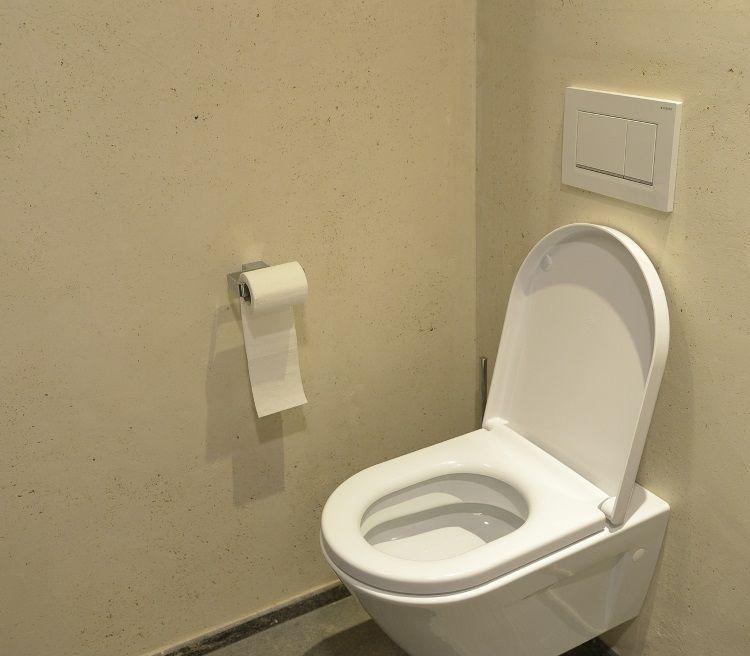 Darstellung eines spülrandlosen WCs.